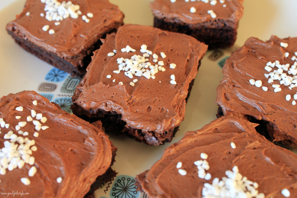 Good Girl Style: New Nordic Ginger Chocolate Orange Brownies