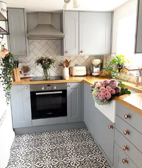 kitchenset ukuran kecil rumah minimalis