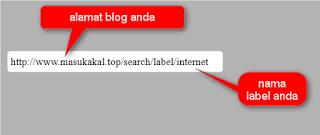 label pada blog5