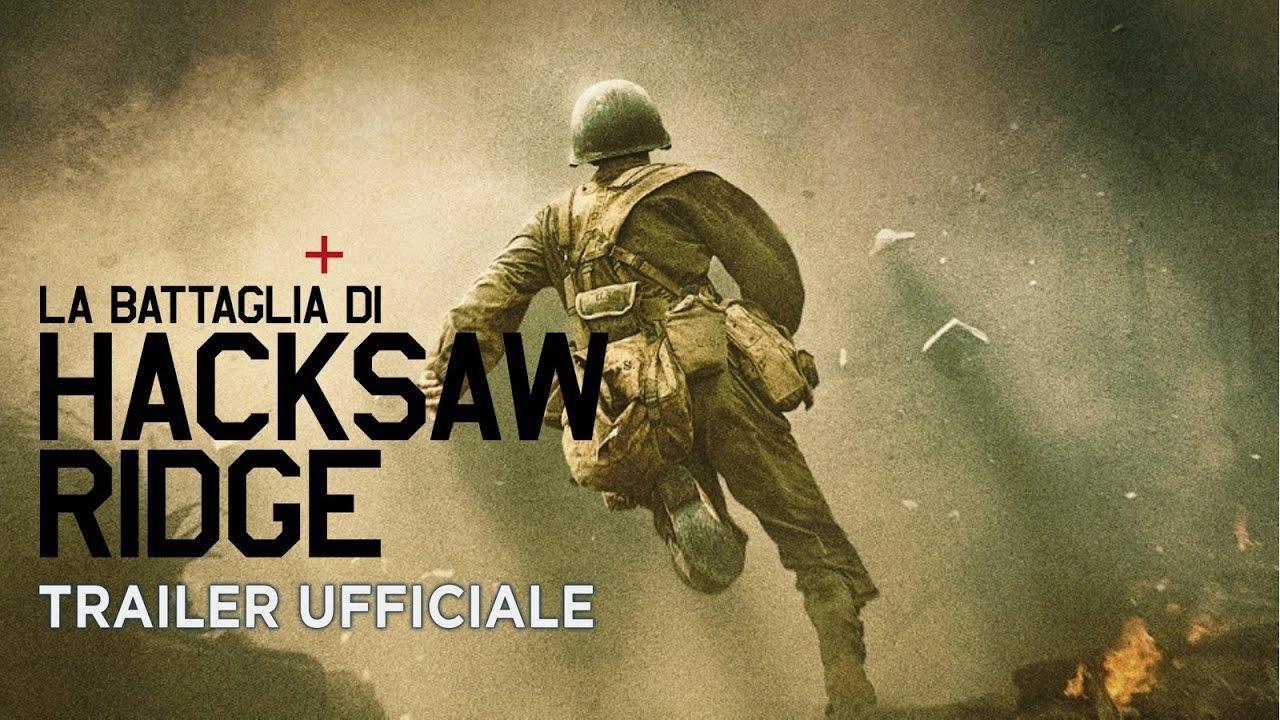 Canzone Trailer LA BATTAGLIA DI HACKSAW RIDGE | Pubblicità e Spot TV film