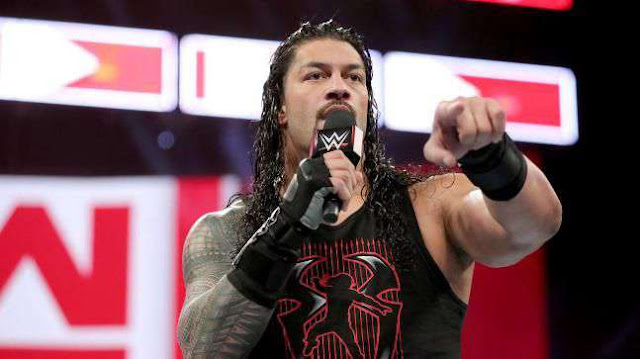Roman reigns returning on next Monday night Raw