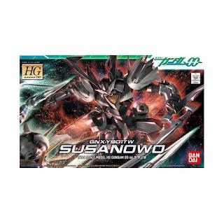 Bandai HGOO GNX-Y901TW Susanowo Gundam Model Kit [1 : 144]