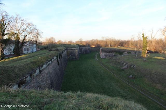 Muralles de Neuf-Brisach, Alsàcia, França, Patrimoni de la Humanitat, Sites Vauban