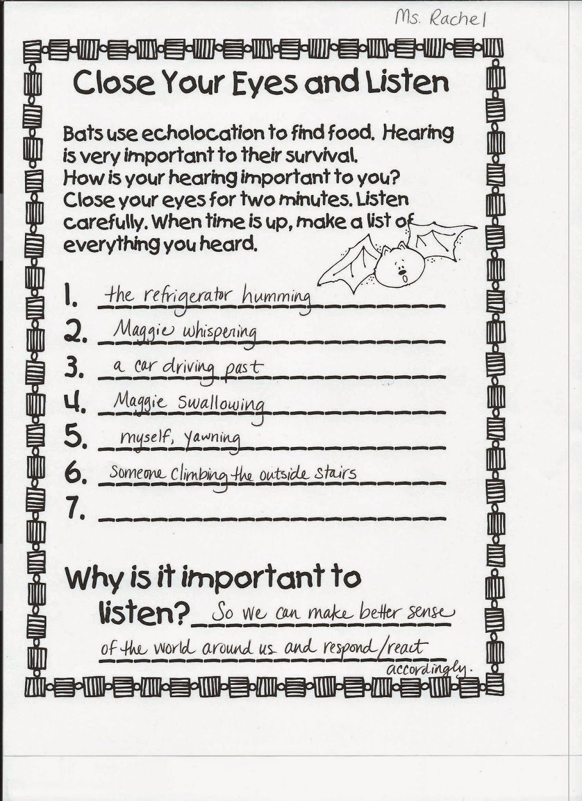 Workbooks hearing and sound grade 3 worksheets : Spark and All: Traveling Book Club