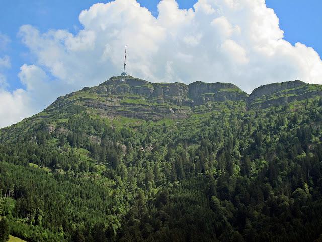 Evolution of Alpine landscape recorded by sedimentary rocks