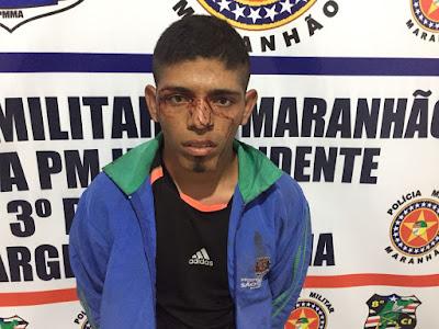 Vargem Grande: Após roubar moto, assaltante é agredido por populares e preso pela Polícia Militar
