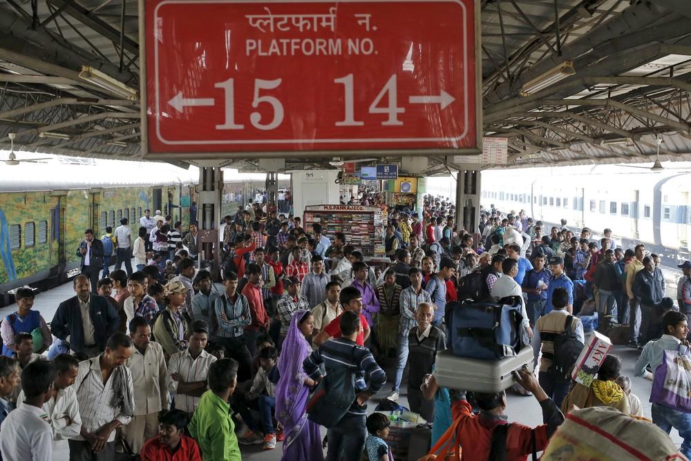 Железная дорога Индии (14 фото)