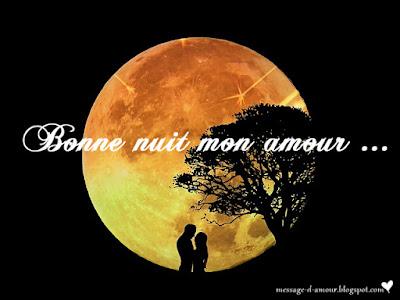 image bonne nuit mon amour