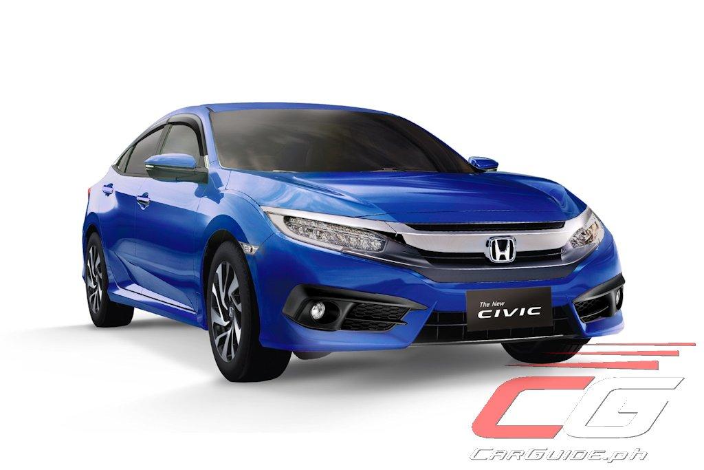 Honda Cars Philippines Introduces New Civic Variant
