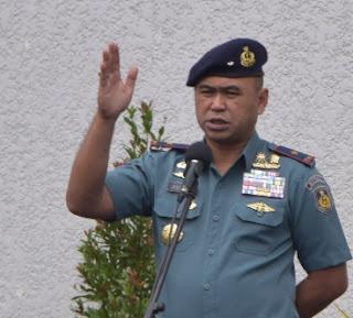 KOMANDAN STTAL PIMPIN APEL PAGI GABUNGAN PRAJURIT DAN MAHASISWA STTAL