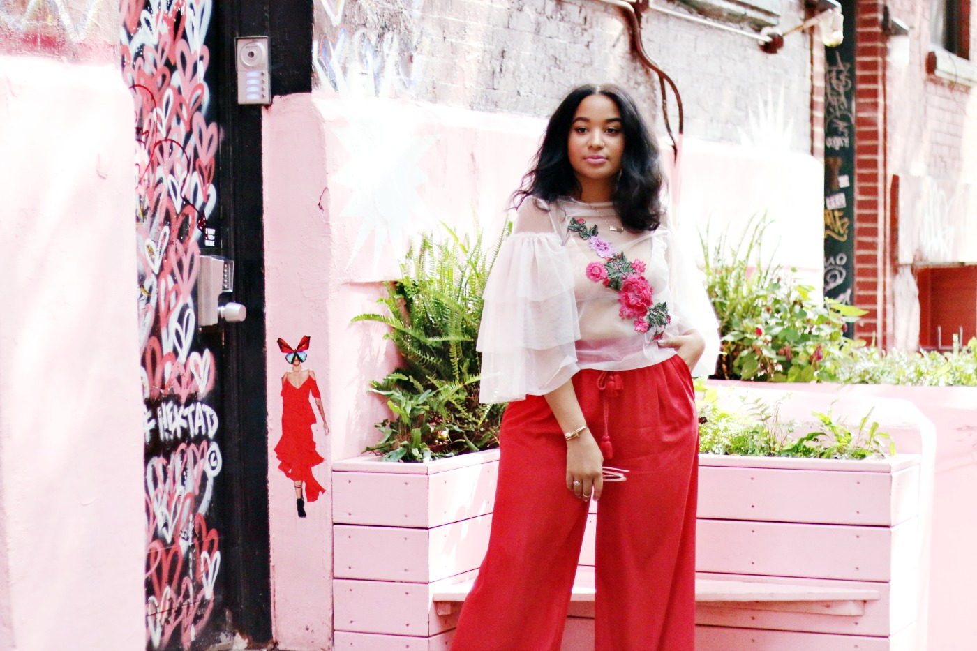 How To Style Pink Pietro Nolita