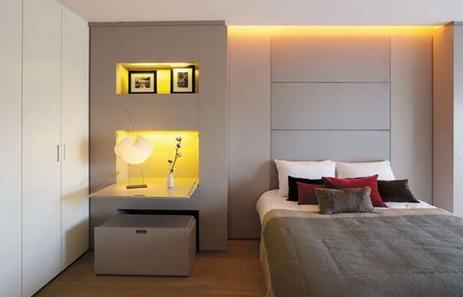 Contoh  desain kamar tidur ukuran kecil agar nyaman
