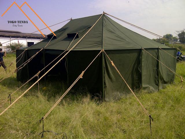 Tenda - Komando - Standar - TNI