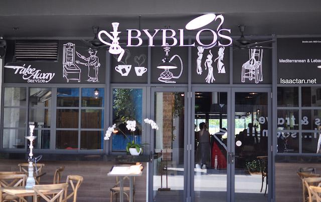 Mediterranean & Lebanese Cuisine @ Byblos Cafe & Lounge, TREC KL