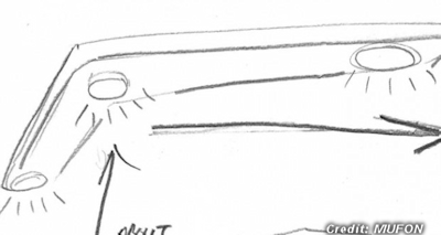 Police Officer Reports Boomerang-Shaped UFO 1-24-15