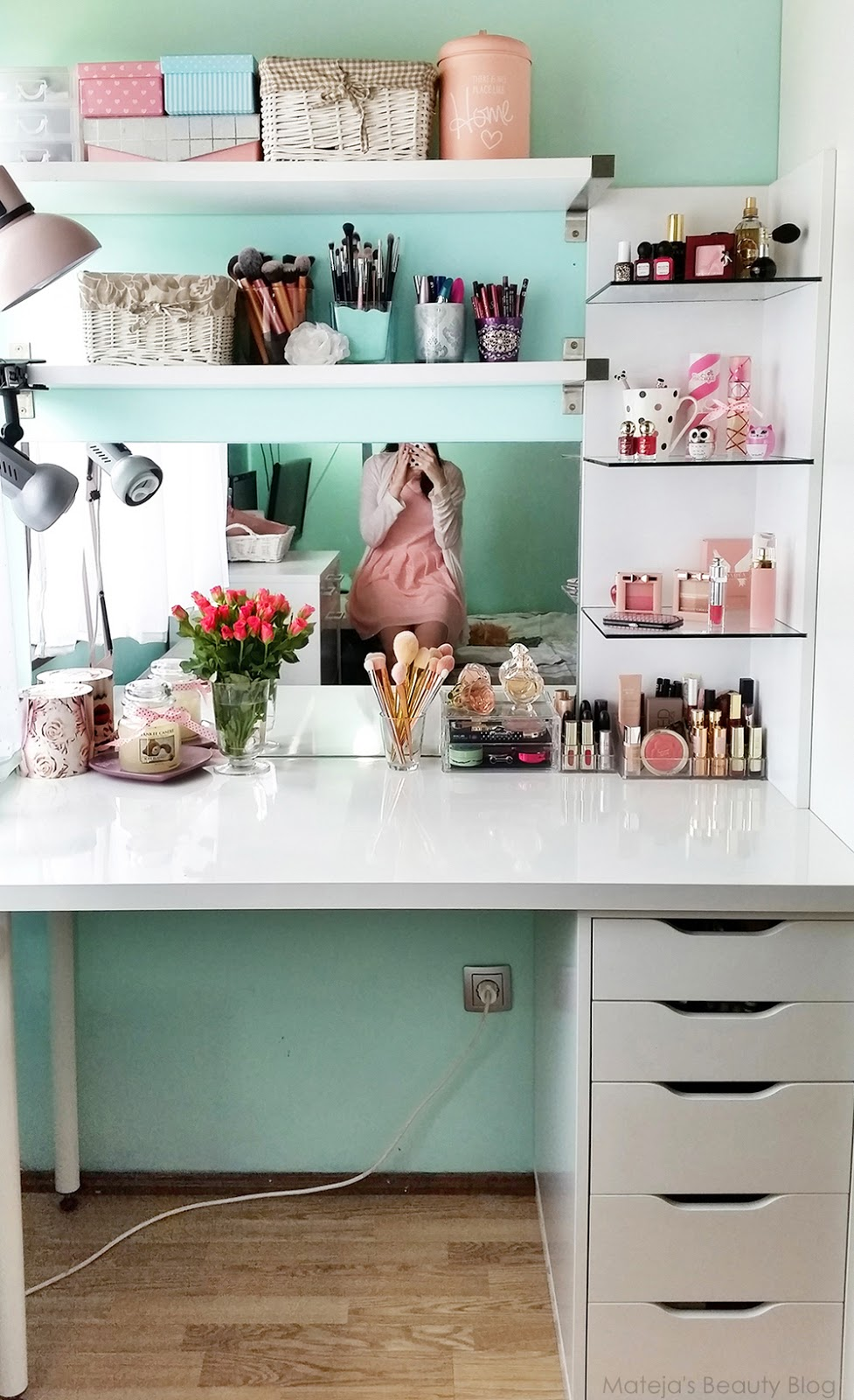 My Makeup Collection and Organisation Tips