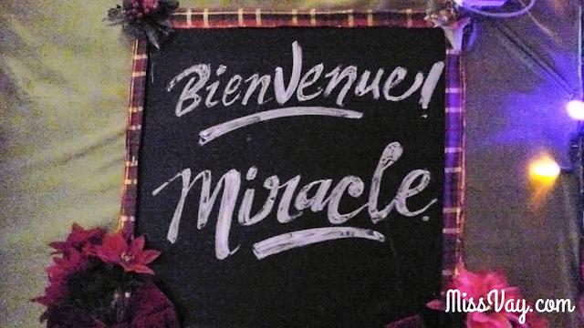 Miracle Montréal bar éphémère Noël