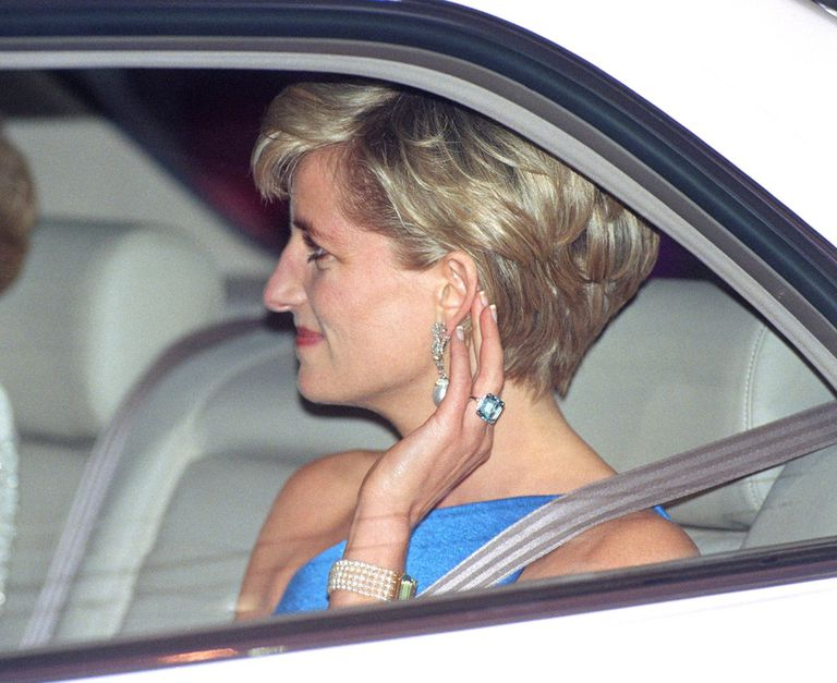 Princess Diana Aquamarine Ring