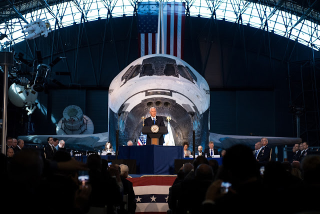 VP Pence National Space Council space.filminspector.com