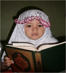 gambar anak membaca alqur'an
