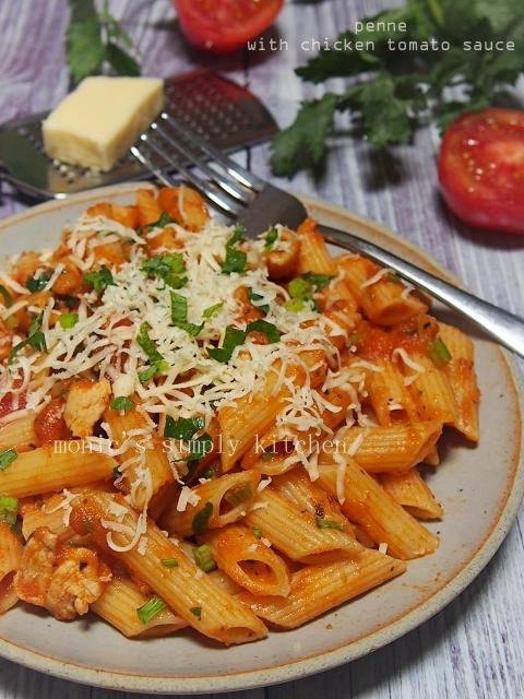 resep penne dengan saus pasta homemade