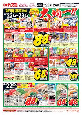 【PR】フードスクエア/越谷ツインシティ店のチラシ8月22日号