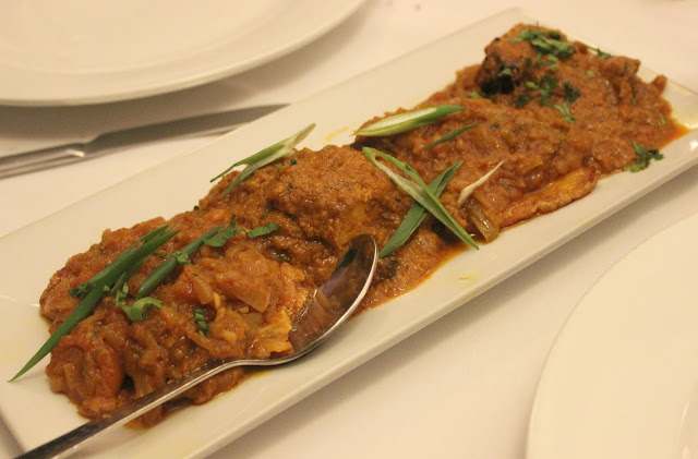 A picture of Chutney Ivy Leicester Sea Bass Bangla Massala