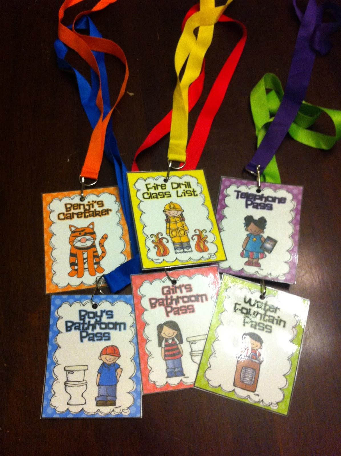 First Grade Garden Hall Pass Freebies And Where Are We Mini