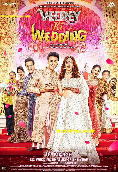 poster of Veere Di Wedding Full Hindi Movie Download In Hd DVDscr