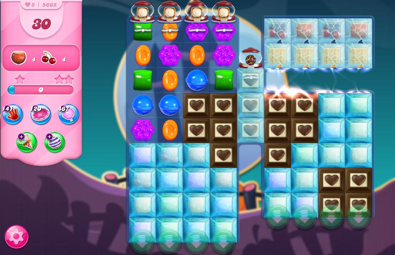 Candy Crush Saga level 5665