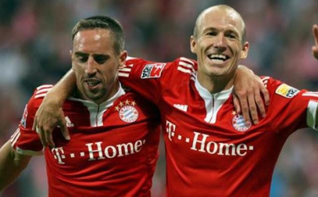 Arjen Robben dan Franck Ribery