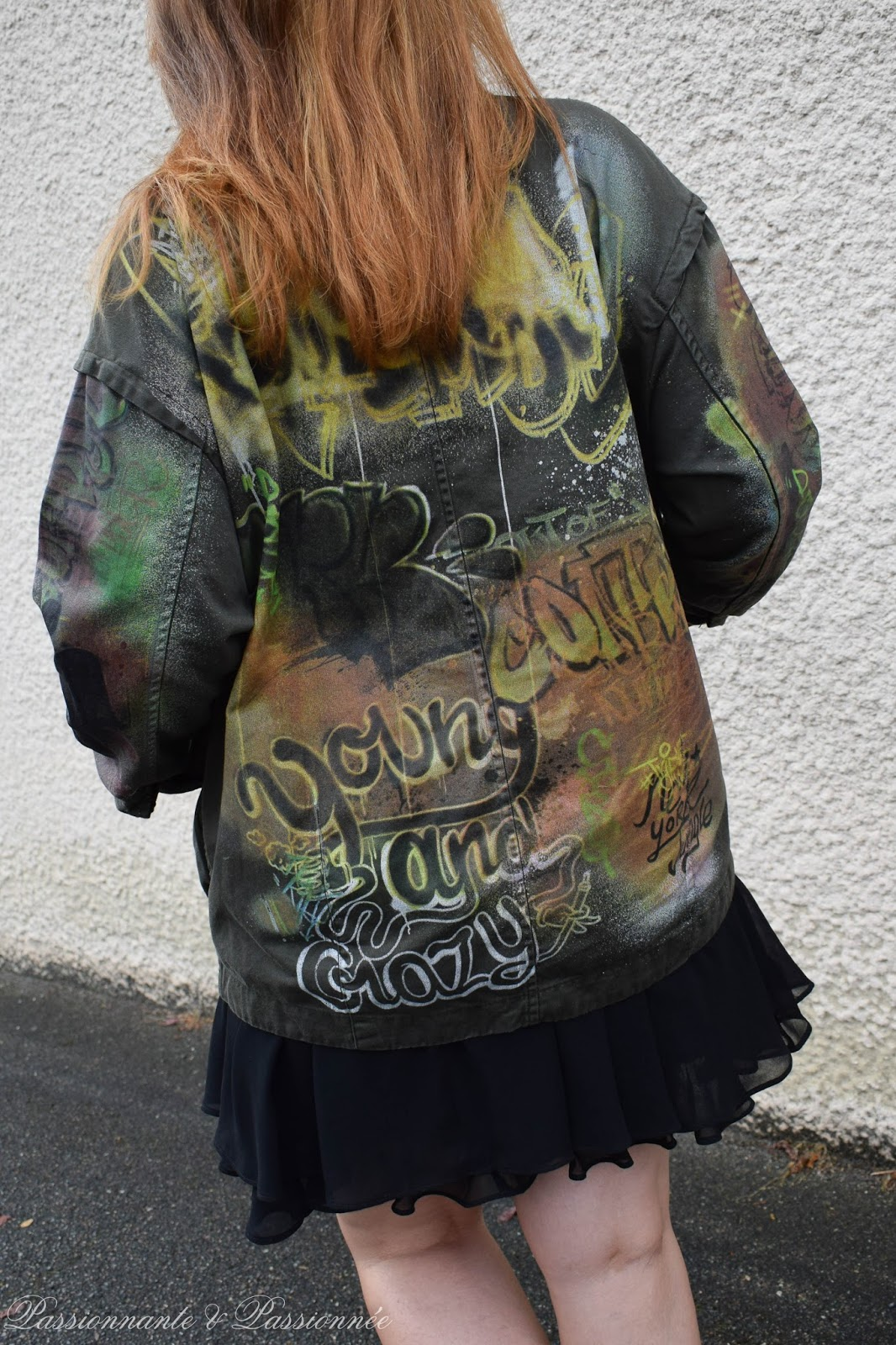 veste graffiti