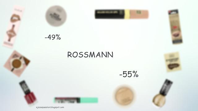 Rossmann -49% / -55% | Co polecam / Na co poluję