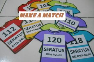 Modal Pembelajaran Mencari Pasangan (Make a Match)