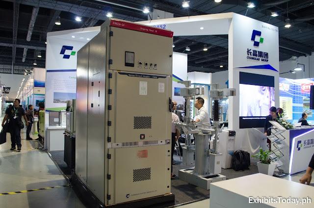 Changgao Group trade show display
