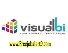 Visual BI Recruitment 2017 Jobs For Freshers Apply