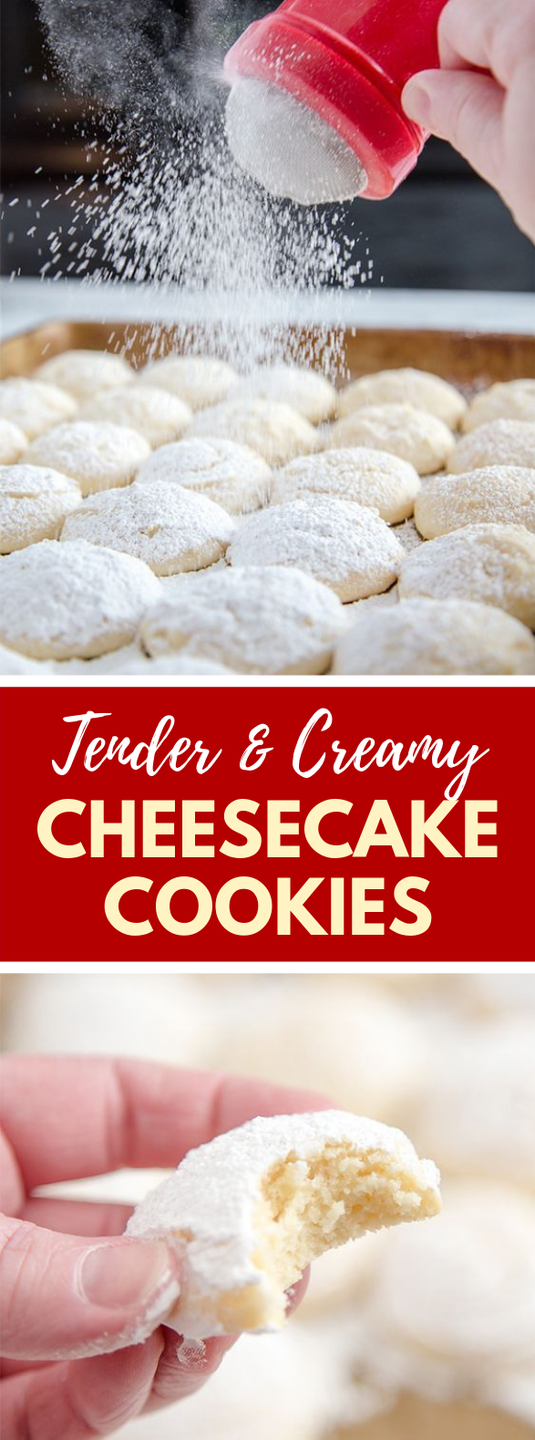 Cheesecake Cookies #sugar #dessert