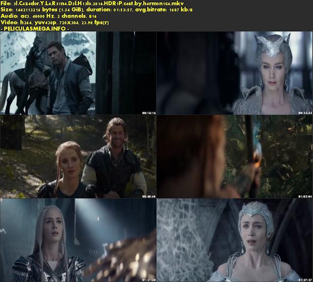 Descargar El Cazador y la Reina del Hielo Castellano por MEGA.