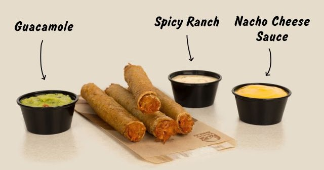 Rolled Chicken Tacos Return At Taco Bell Brand Eating