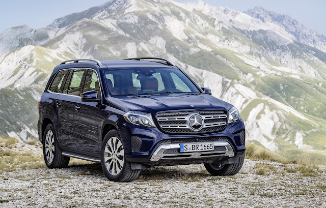 New 2016 Mercedes GLS 400 4MATIC SUV HD