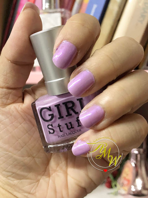 a photo of Girlstuff Nail Polish Summer Romance Collection review - Beach Babe, BAEwatch, Sun-kissed, Rendezvous and Sea La Vie by Nikki Tiu of askmewhats.com