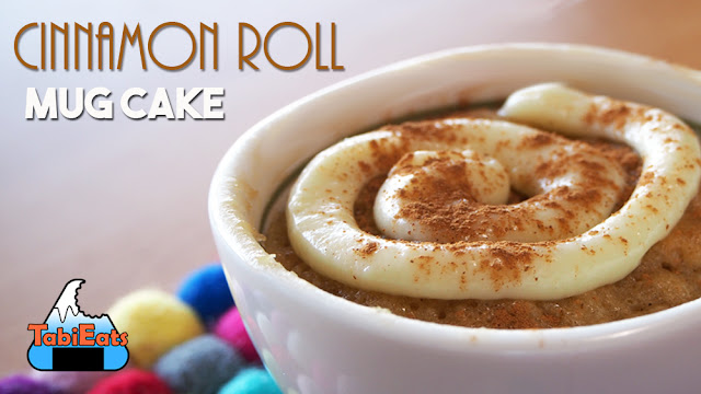 EASY CINNAMON ROLL MUG CAKE