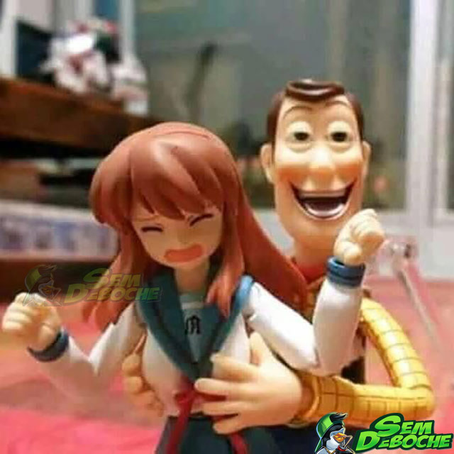 QUE ISSO WOODY?