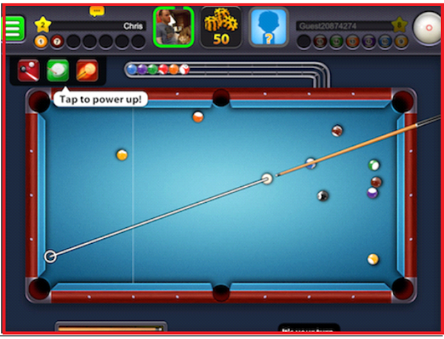 Features of 8 ball pool 3.8.6 Long Line
