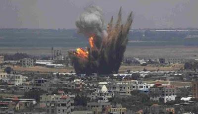 غارات التحالف الدولى على آخر معاقل داعش شرق سوريا