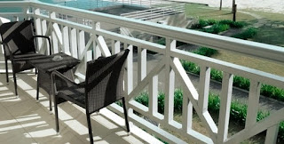Canyon Painting offers expert refinishing services for the deck on your Sedona home.