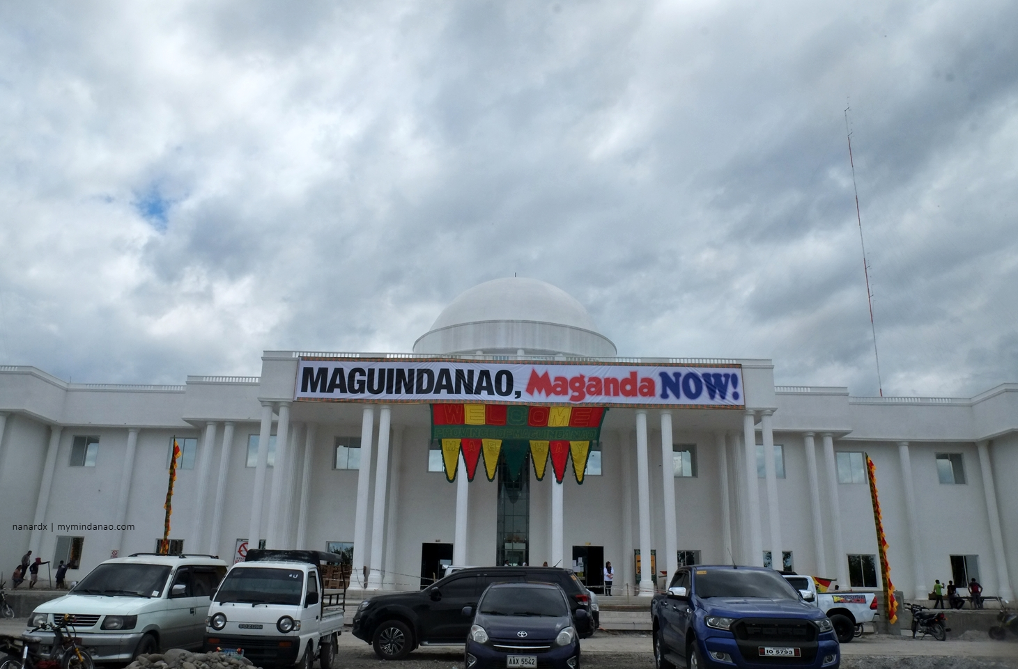 White House in Buluan. The New Provincial Capitol of Maguindanao.