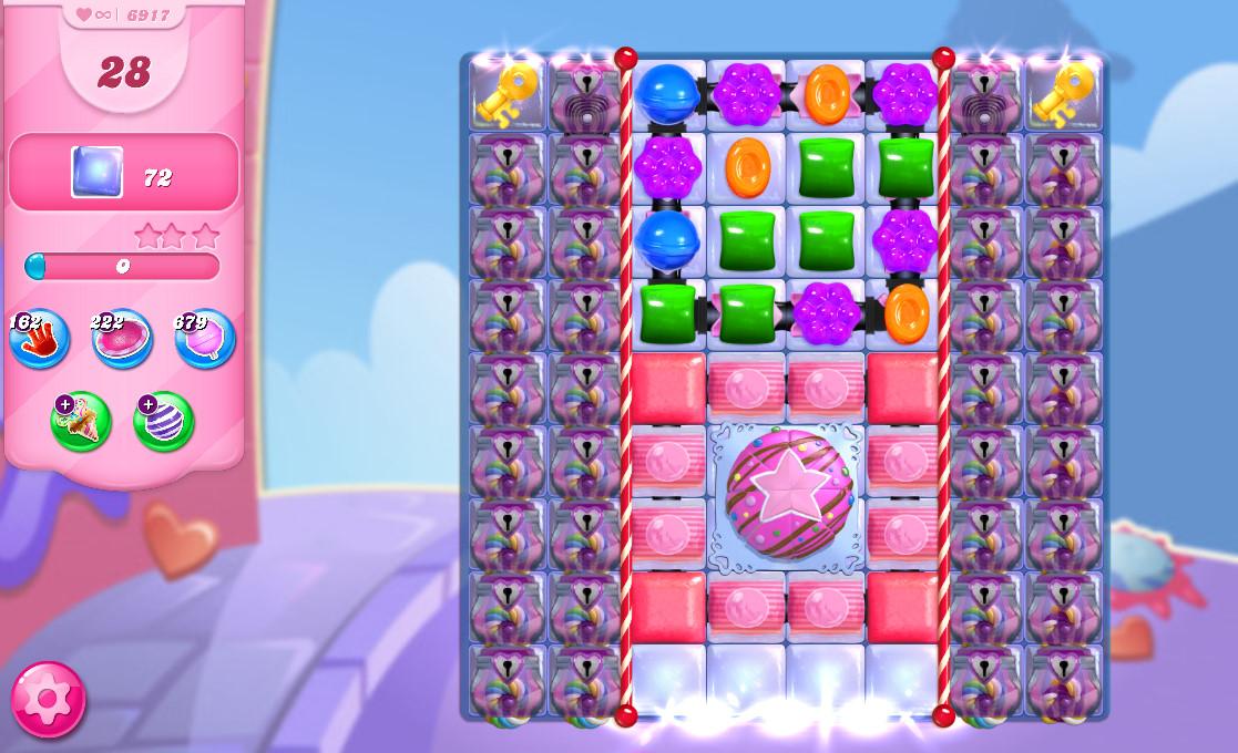 Candy Crush Saga level 6917
