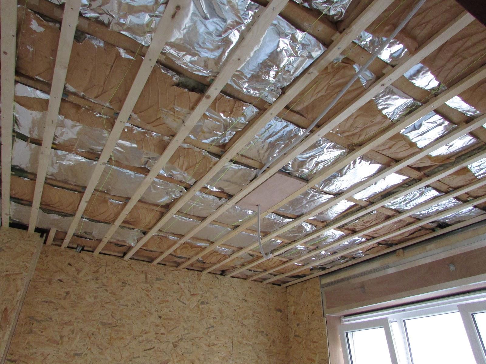 verbouwing van ons ouderlijk huis: plafond slaapkamer 1