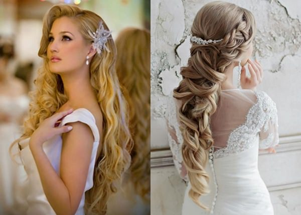 Wedding Hairstyle with Permanent Waves 11